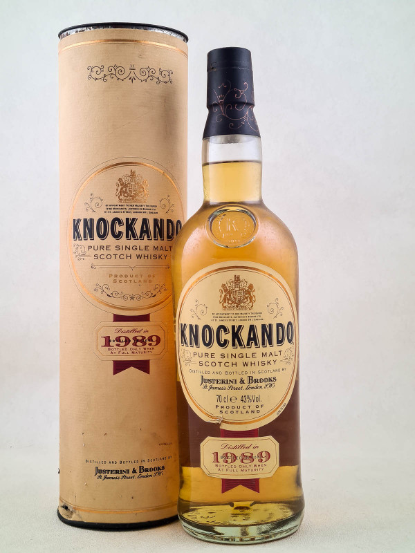 Knockando - Whisky Pure Single Malt 1989 avec boîte