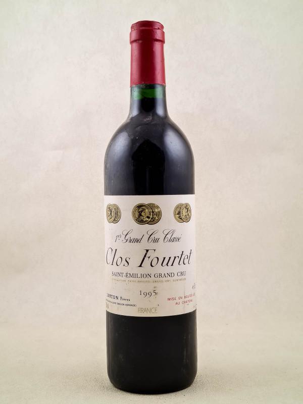 Clos Fourtet - Saint Emilion 1995
