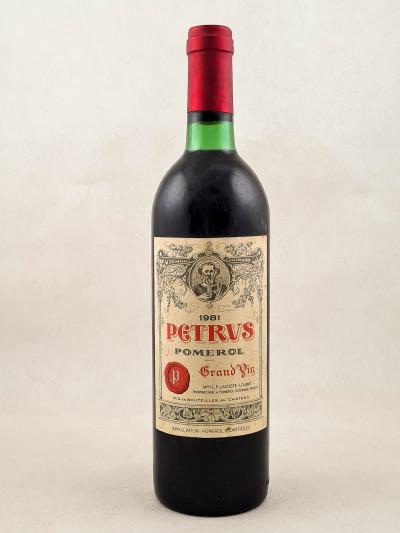 Petrus - Pomerol 1981