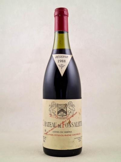 Fonsalette - Côtes du Rhône 1988