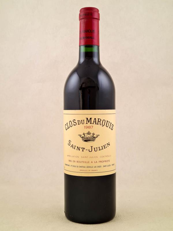 Clos du Marquis - Saint Julien 1987