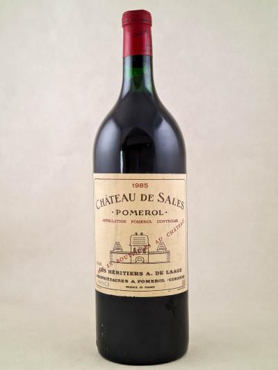 Sales - Pomerol 1985 MAGNUM