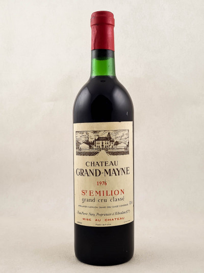 Grand Mayne - Saint Emilion 1976