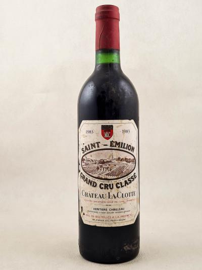 La Clotte - Saint Emilion 1983