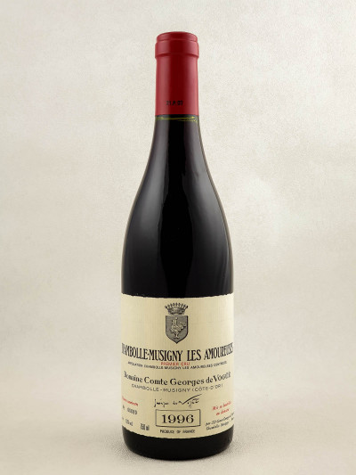 "Comte Georges de Vogüé - Chambolle Musigny 1er cru ""Amoureuses"" 1996"