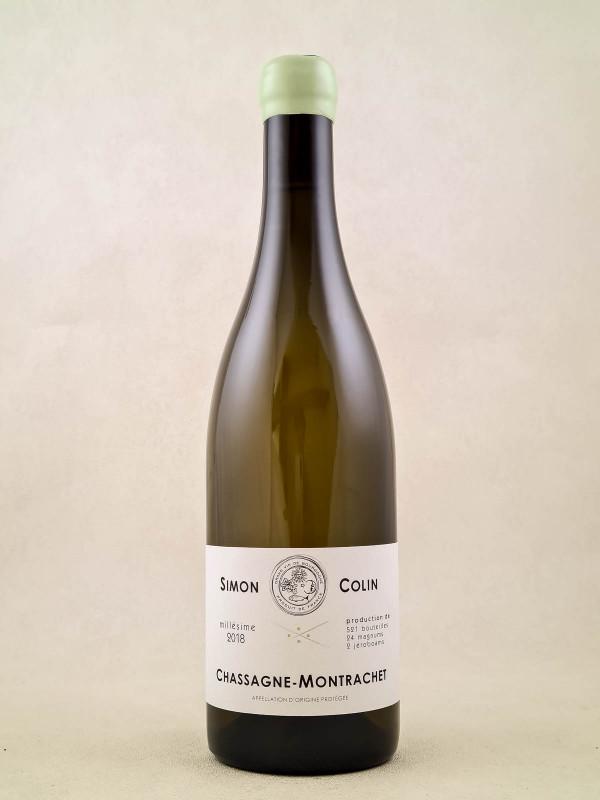 Simon Colin - Chassagne Montrachet 2018