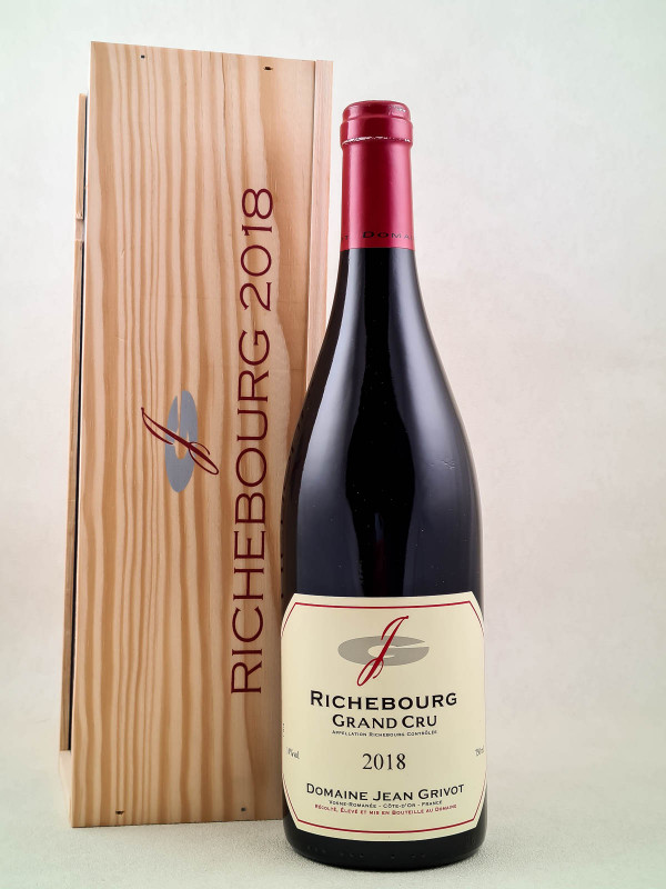 Jean Grivot - Richebourg 2018 avec boîte