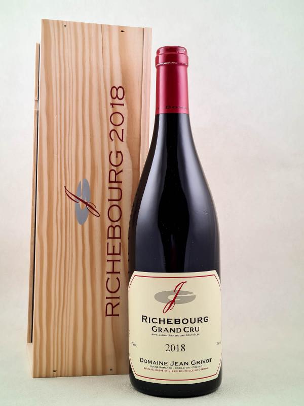 Jean Grivot - Richebourg 2018 Original Case