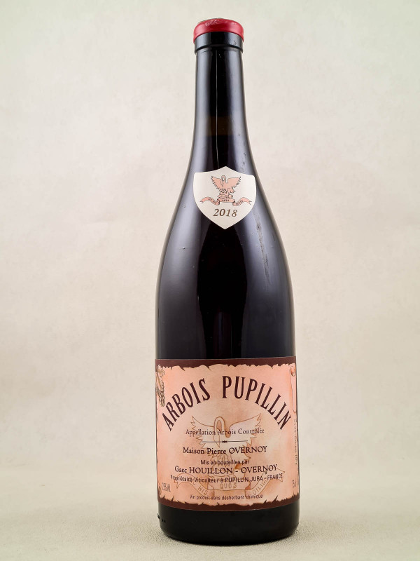 Overnoy - Arbois Pupillin rouge 2018