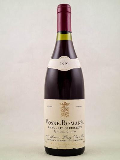 "Forey - Vosne Romanée 1er cru ""Les Gaudichots"" 1991"
