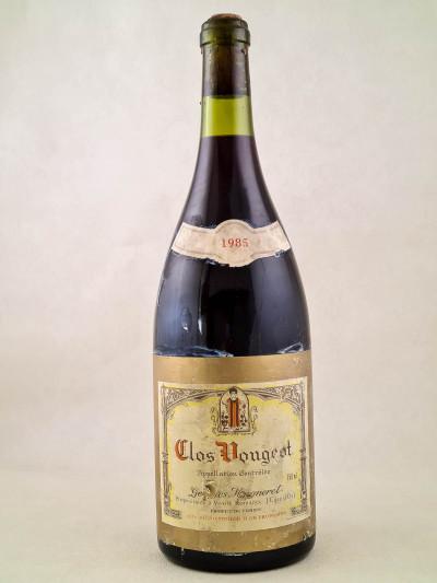 Georges Mugneret - Clos Vougeot 1985 MAGNUM