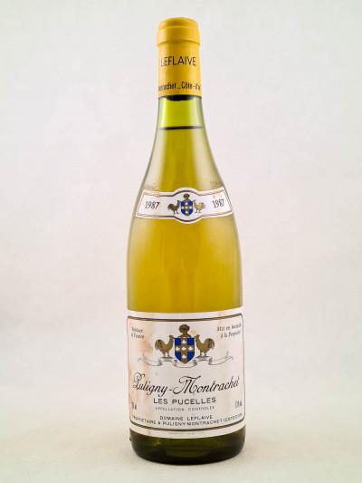 "Leflaive - Puligny Montrachet 1er cru ""Pucelles"" 1987"