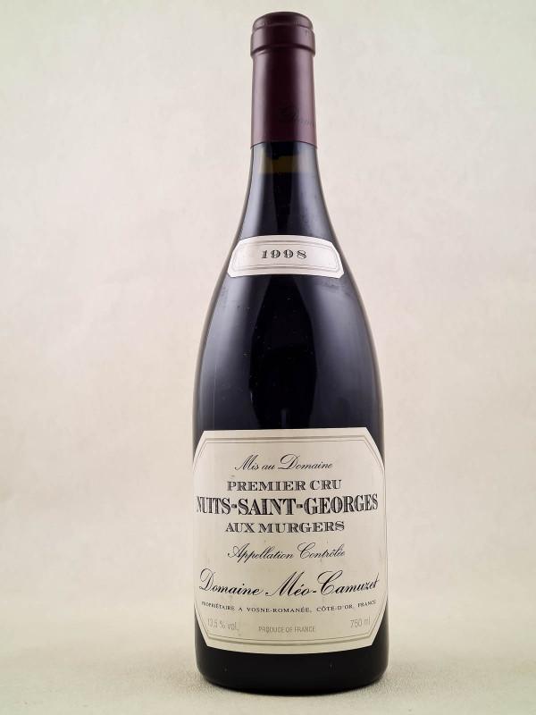 """Méo Camuzet - Nuits Saint Georges 1er cru """"Aux Murgers"""" 1998"""