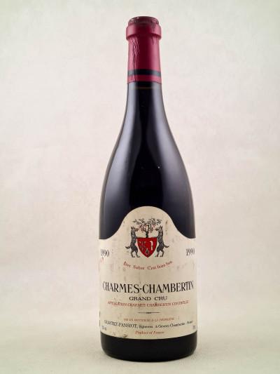 Geantet Pansiot - Charmes Chambertin 1990