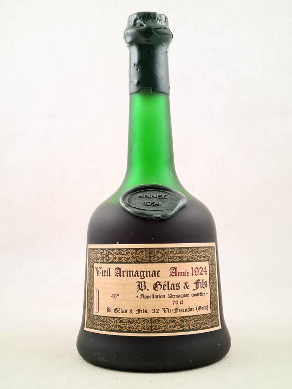 Gélas - Vieil Armagnac 1924