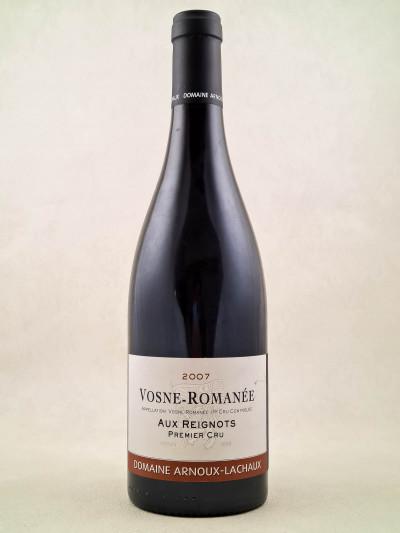"""Arnoux Lachaux - Vosne Romanée 1er cru """"Aux Reignots"""" 2007"""