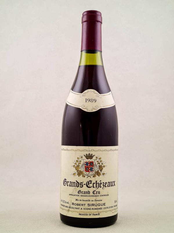 Robert Sirugue - Grands Echezeaux 1989