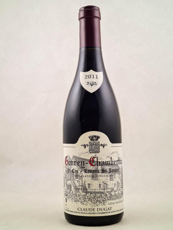 "Claude Dugat - Gevrey Chambertin 1er cru ""Lavaux St Jacques"" 2011"