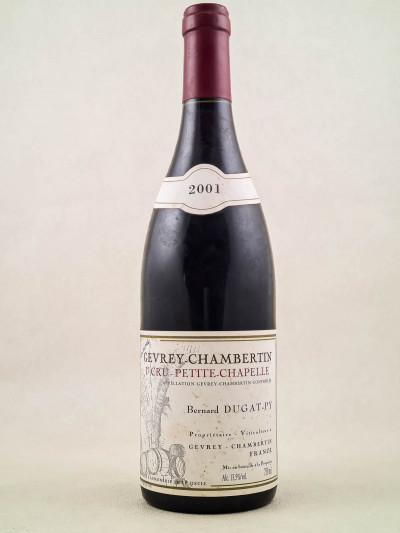 "Dugat Py - Gevrey Chambertin 1er cru ""Petite Chapelle"" 2001"