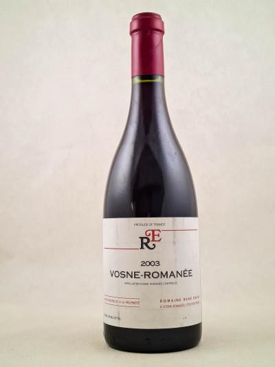 René Engel - Vosne Romanée 2003