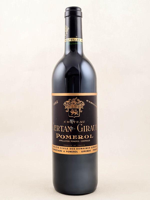 Certan Giraud - Pomerol 1992