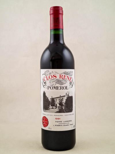 Clos René - Pomerol 1991