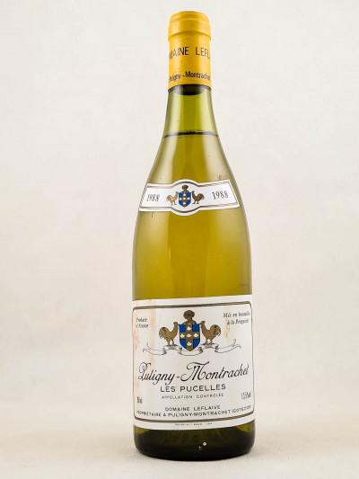 "Leflaive - Puligny Montrachet 1er cru ""Pucelles"" 1988"