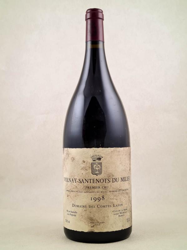 """Comtes Lafon - Volnay 1er cru """"Santenots du Milieu"""" 1998 MAGNUM"""