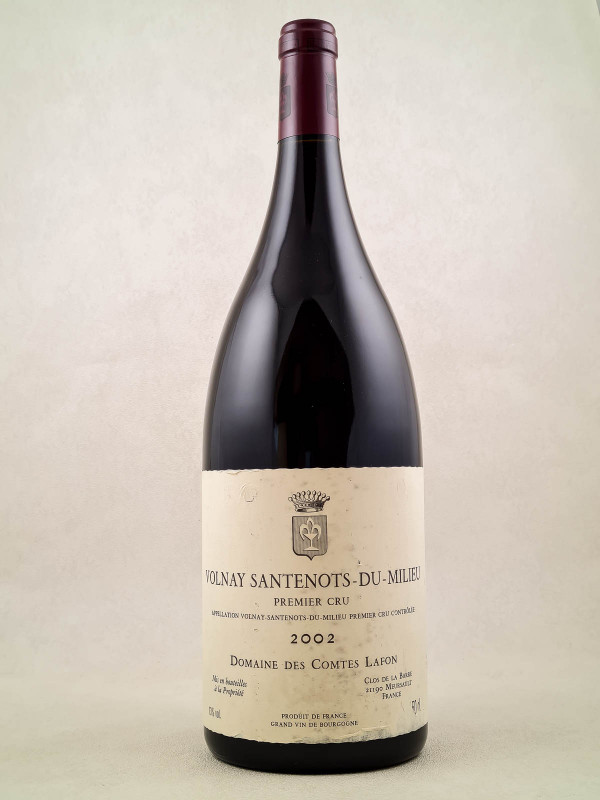 """Comtes Lafon - Volnay 1er cru """"Santenots du Milieu"""" 2002 MAGNUM"""