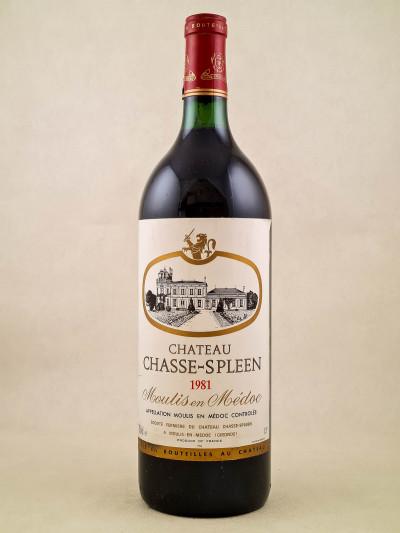Chasse Spleen - Moulis en Médoc 1981 MAGNUM