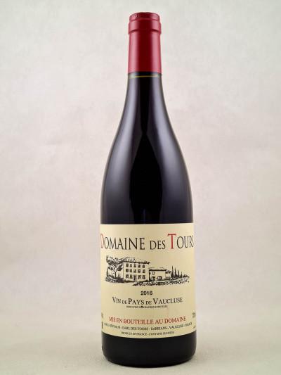 Domaine des Tours - Vin de Pays du Vaucluse 2016