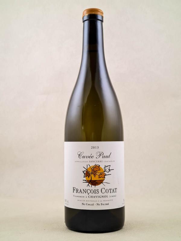 """François Cotat - Sancerre """"Cuvée Paul"""" 2013"""