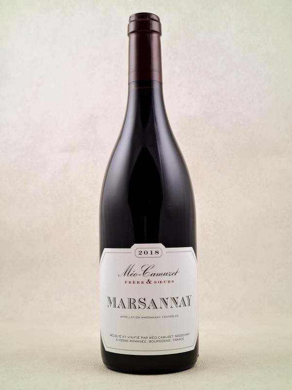 Méo Camuzet Frère & Soeurs - Marsannay 2018