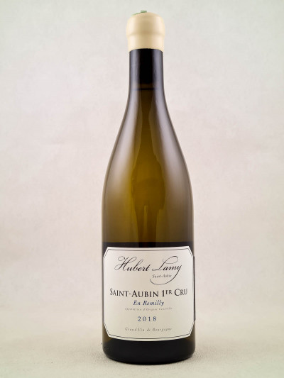 "Hubert Lamy - Saint Aubin 1er cru ""En Remilly"" 2018"