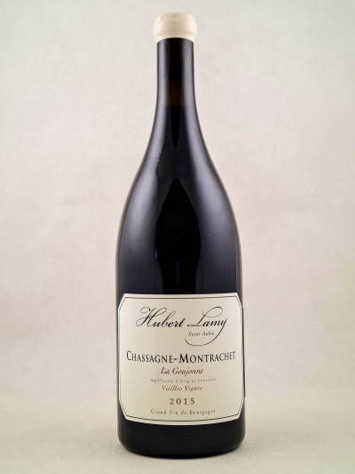 "Hubert Lamy - Chassagne Montrachet rouge ""La Goujonne"" 2015 MAGNUM"