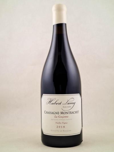 "Hubert Lamy - Chassagne Montrachet rouge ""La Goujonne"" 2018 MAGNUM"