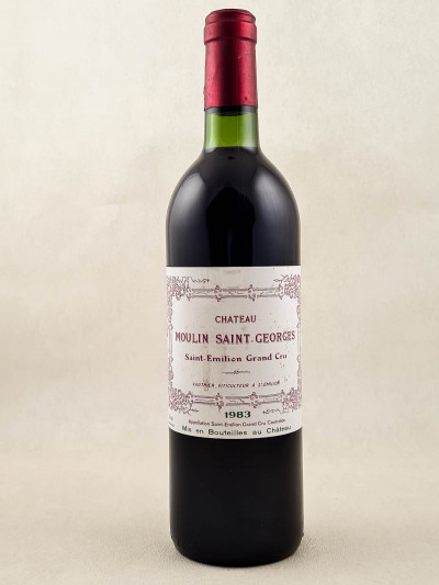 Moulin St Georges - Saint Emilion 1983