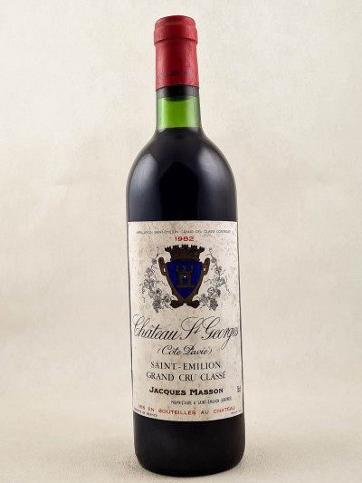 St Georges ( Côté Pavie ) - Saint Emilion 1982