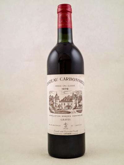 Carbonnieux - Pessac Léognan 1988