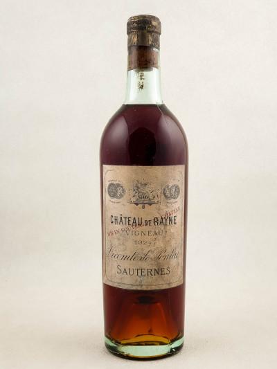 Rayne Vigneau - Sauternes 1924
