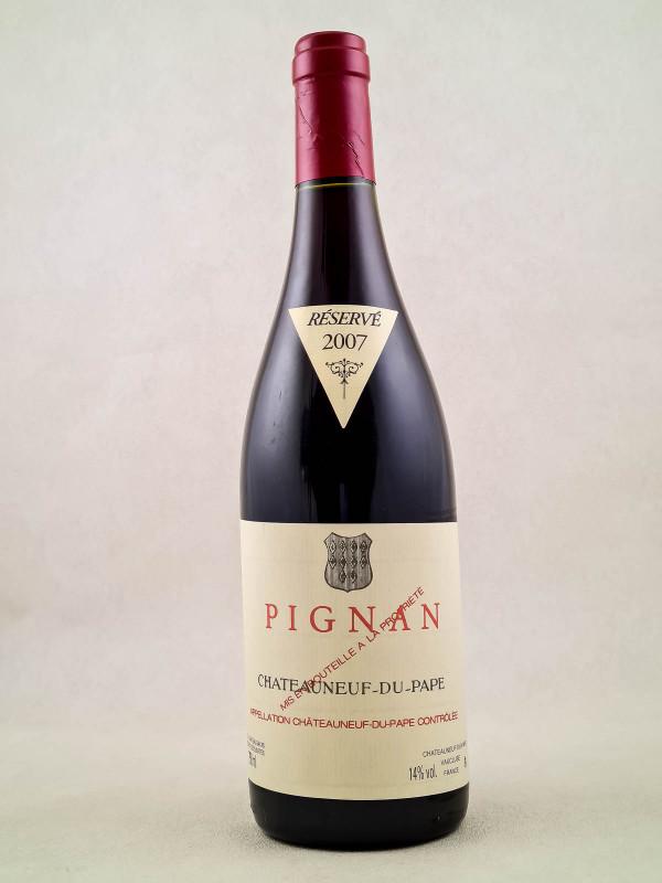 Pignan - Châteauneuf du Pape 2007