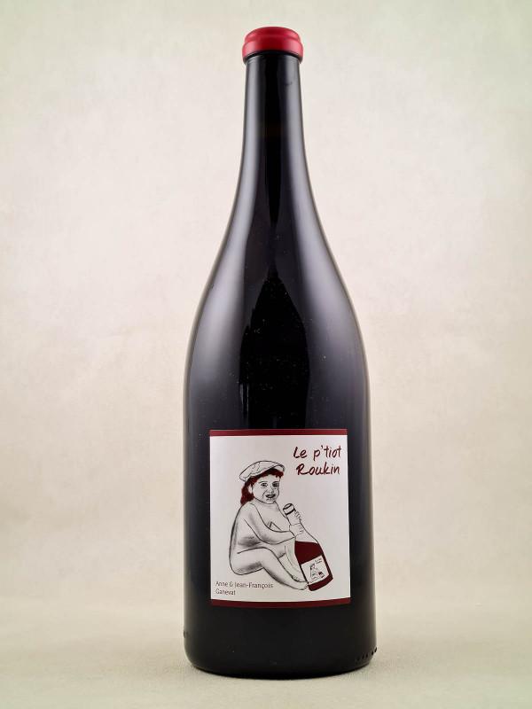 """Ganevat - Vin de France """"Le P'tiot Roukin"""" MAGNUM"""