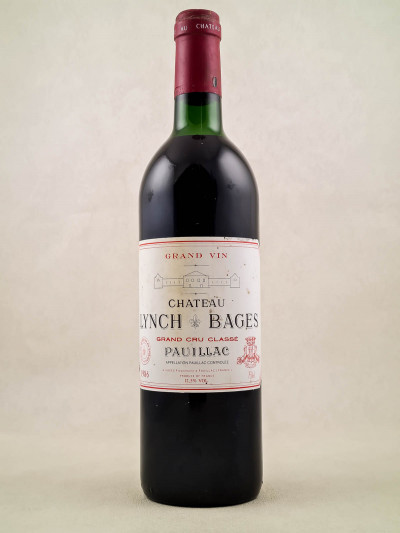 Lynch Bages - Pauillac 1986