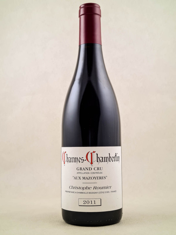 """Georges Roumier - Charmes Chambertin """"Aux Mazoyères"""" 2011"""