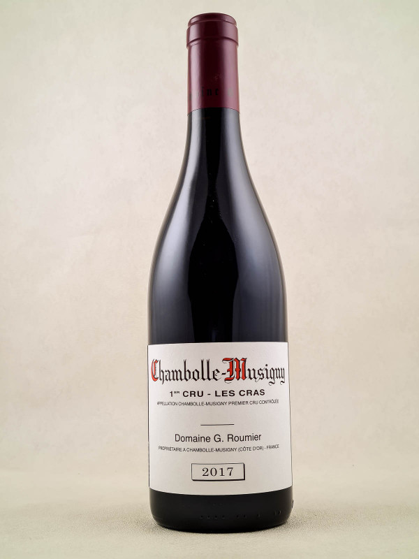 "Georges Roumier - Chambolle Musigny 1er cru ""Cras"" 2017"