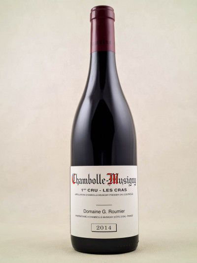 "Georges Roumier - Chambolle Musigny 1er cru ""Cras"" 2014"