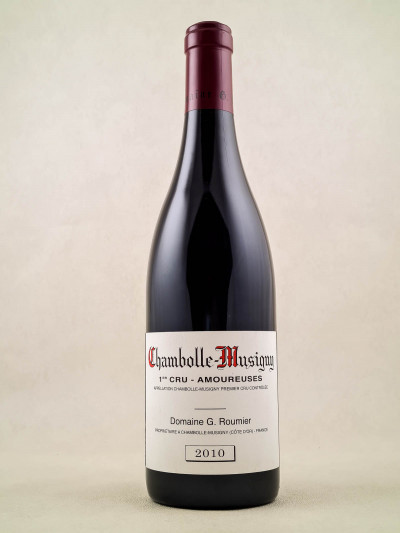 "Georges Roumier - Chambolle Musigny 1er cru ""Amoureuses"" 2010"
