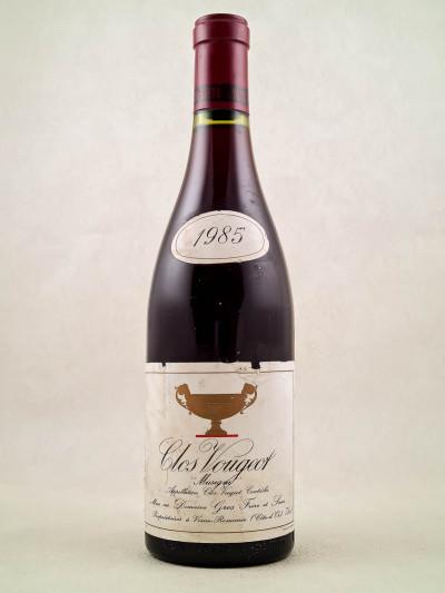 """Gros Frère & Soeur - Clos Vougeot """"Musigni"""" 1985"""