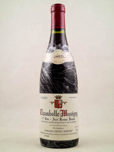 "Denis Mortet - Chambolle Musigny 1er cru ""Aux Beaux Bruns"" 1995"