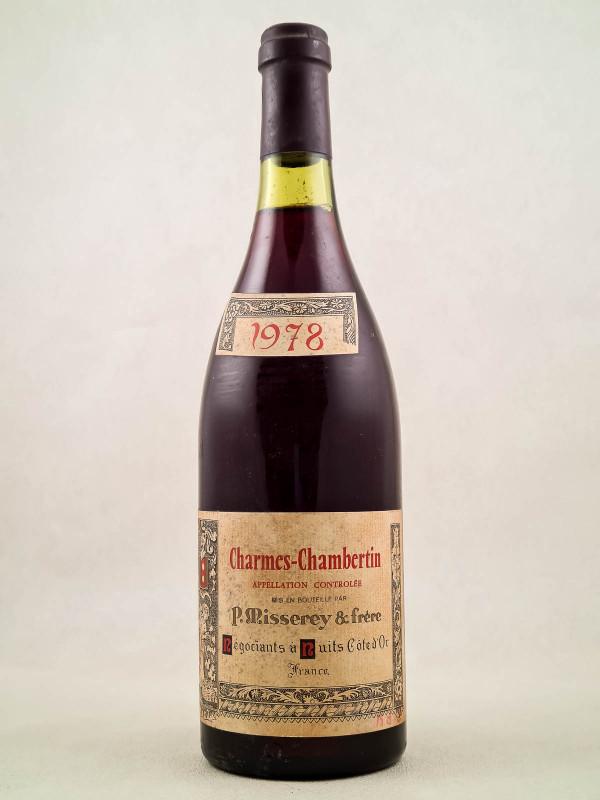 P.Misserey - Charmes Chambertin 1978